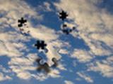 Thumbnail Jigsaw Sky - blue