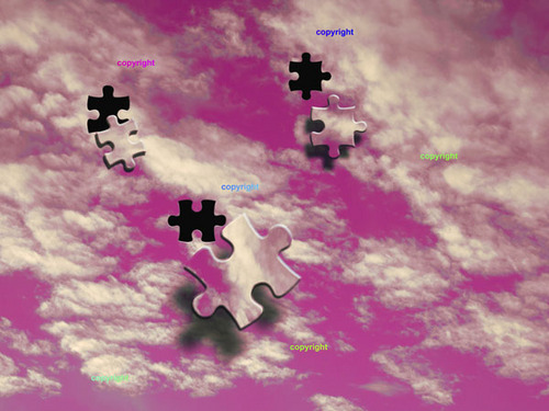 Product picture Jigsaw Sky - pink