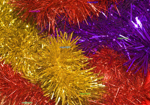 Product picture Christmas tinsel
